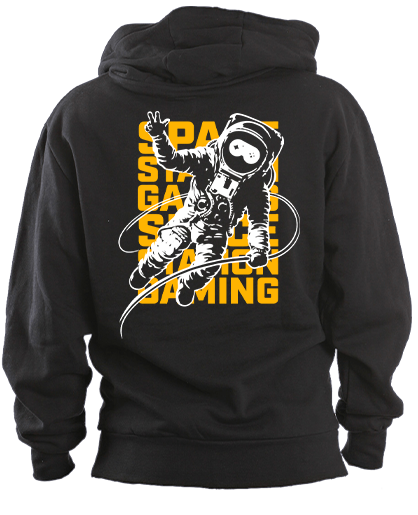 Spacestation Gaming Astronaut Pullover Hoodie