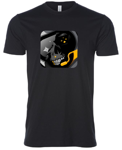 Spacestation Skull T-Shirt