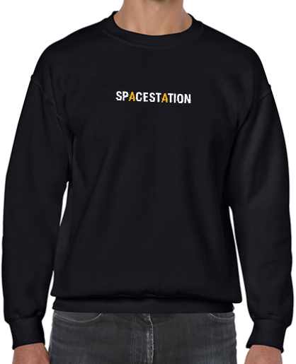 Spacestation Gaming Astronaut Crew Sweatshirt