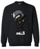 Crew Sweatshirt - Black Full Astro