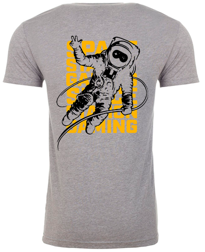 Spacestation Gaming Astronaut T-Shirt