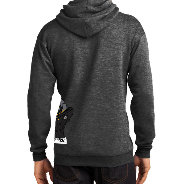 Hoodie - Gray Full Astro Hip