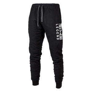 Fu**king Legend Joggers Black
