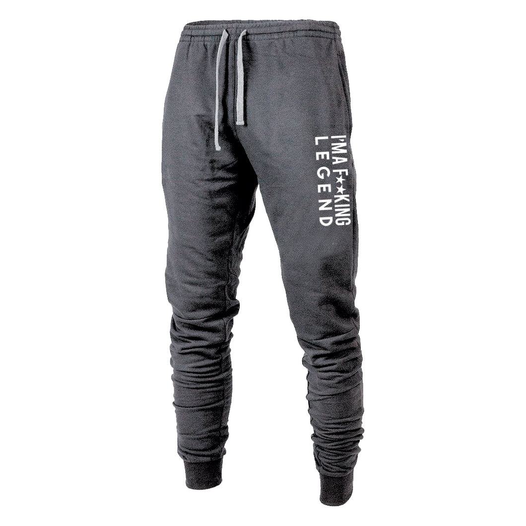 Fu**king Legend Joggers (Charcoal)