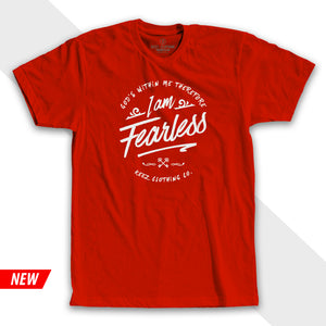 I'm Fearless Tee Red