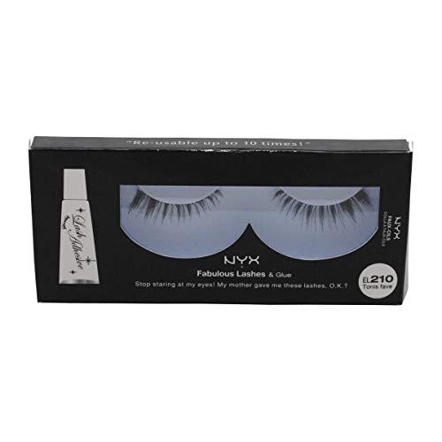 NYX Professional Makeup Fabulous Lashes & Glue - Tonis Fave - EL210 -  | Cosmetics Diary