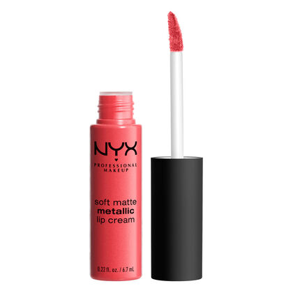 NYX Professional Makeup Soft Matte Lip Cream - Manila (Peach Pearl with Pink Undertone)