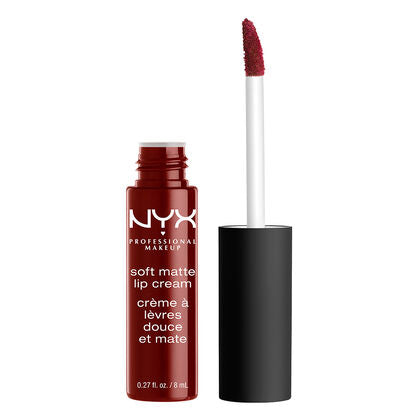 NYX Professional Makeup Soft Matte Lip Cream - Madrid (Cranberry Red) -  | Cosmetics Diary