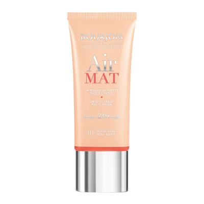 Bourjois Air Mat 24H Hold undetectable Foundation (Various Shades) - 01 Rose Ivory | Cosmetics Diary