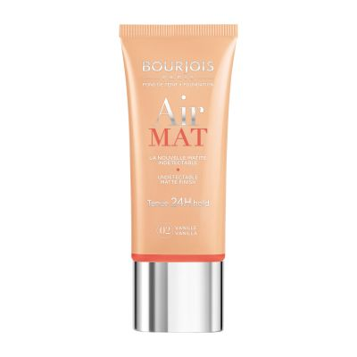 Bourjois Air Mat 24H Hold undetectable Foundation (Various Shades) - 02 Vanilla | Cosmetics Diary
