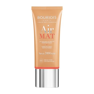 Bourjois Air Mat 24H Hold undetectable Foundation (Various Shades) - 05 Golden Beige | Cosmetics Diary