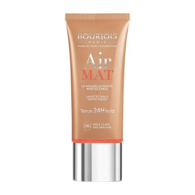 Bourjois Air Mat 24H Hold undetectable Foundation (Various Shades) - 06 Golden Sun | Cosmetics Diary