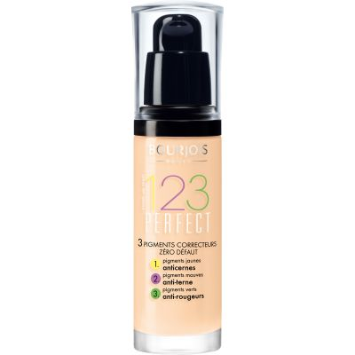 123 Perfect Foundation 16H - 51 Light Vanilla | Bourjois | Cosmetics Diary