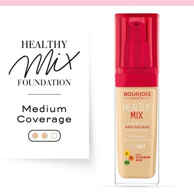 Healthy Mix Anti-Fatique Foundation -  | Cosmetics Diary