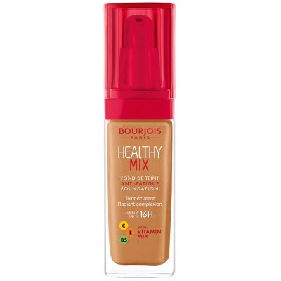 Bourjois Healthy Mix Anti-Fatique Foundation - 58 CARAMEL | Cosmetics Diary