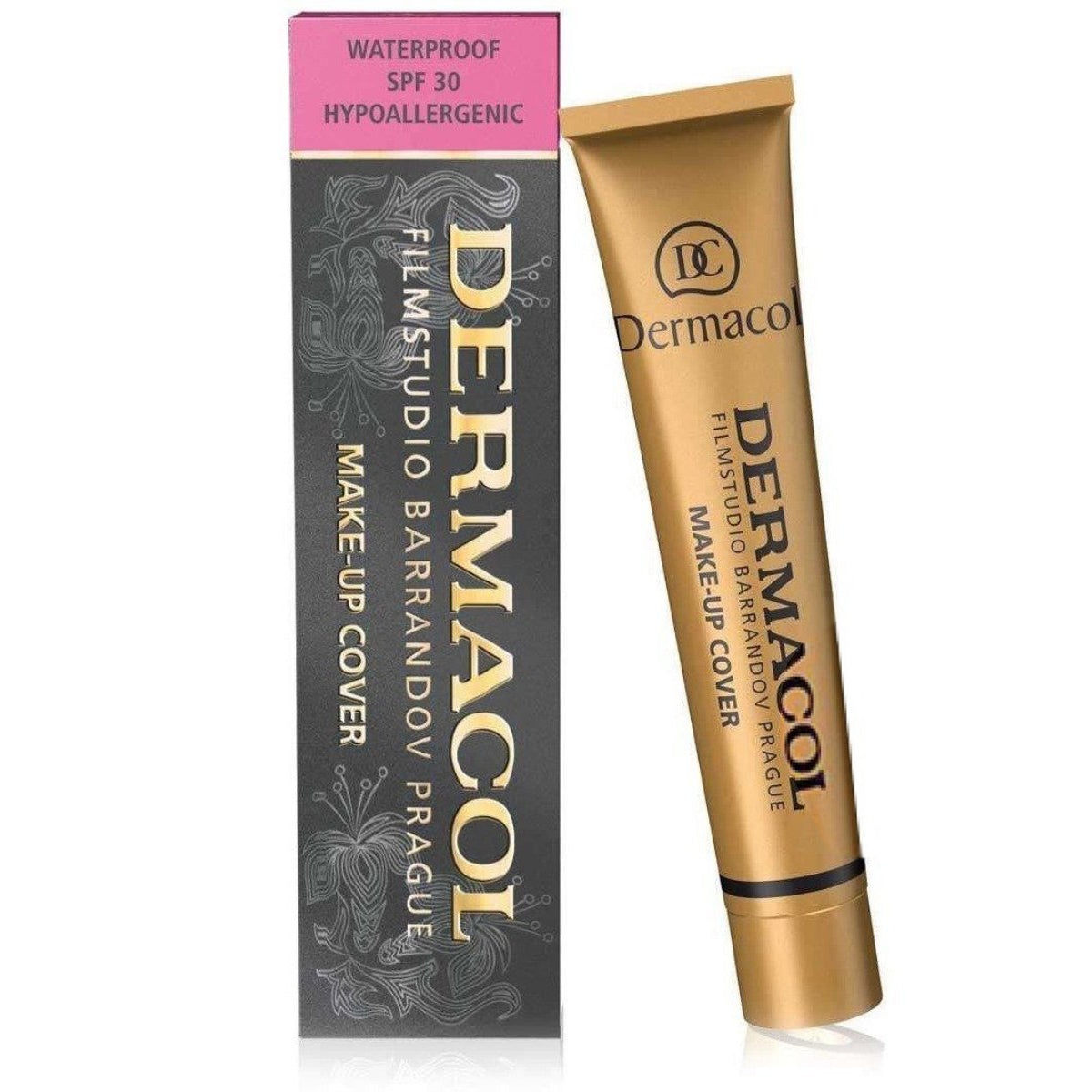 Dermacol MAKE-UP COVER (Various Shades) - 224 DARK ORANGE-BROWN WITH GOLDEN UNDERTONE | Cosmetics Diary