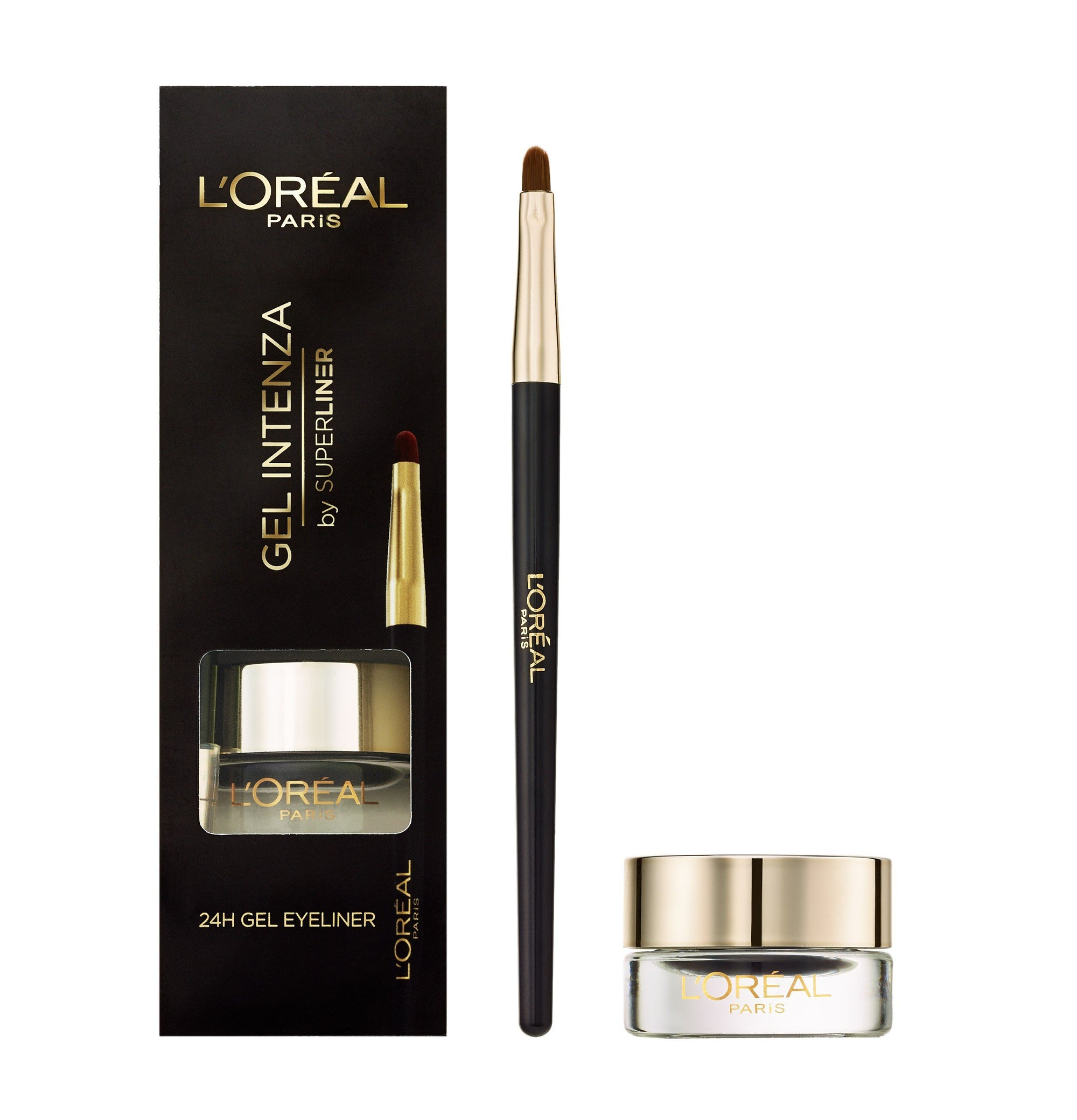 L'Oreal Paris Super Liner Gel Intenza Pure Black 24H