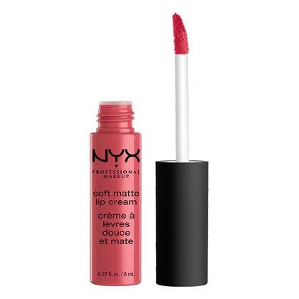 NYX Professional Makeup Soft Matte Lip Cream - Addis Ababa (Bright Fuchsia) - Cosmetics Diary