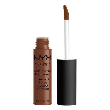 NYX Professional Makeup Soft Matte Lip Cream - Dubai (Medium Cool Brown) - Cosmetics Diary