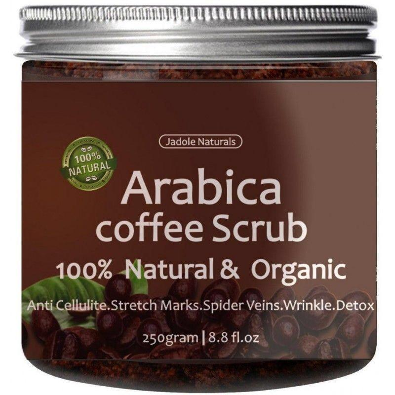 Jadole Naturals Arabica Coffee Scrub 100% Natural & Organic