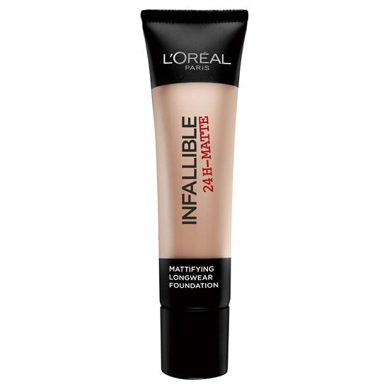 L'Oreal Paris Infallible 24H Matte Foundation - 20 Sand -  | Cosmetics Diary