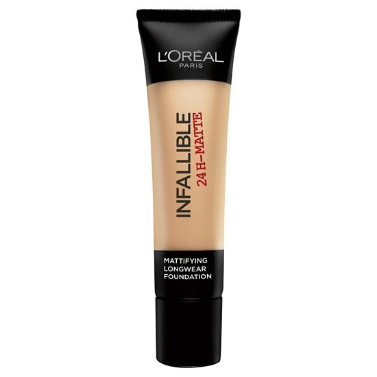 L'Oreal Paris Infallible 24H Matte Foundation - 24 Golden Beige -  | Cosmetics Diary