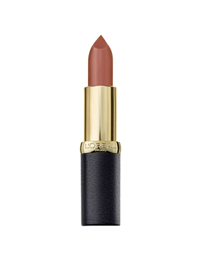 L'Oreal Paris Color Riche Matte Addiction Lipstick (Various Shades) - Mahogany Studs - 636 | Cosmetics Diary