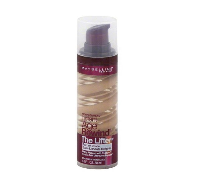 Maybelline New York Instant Age Rewind The Lifter Makeup - Sandy Beige -  | Cosmetics Diary