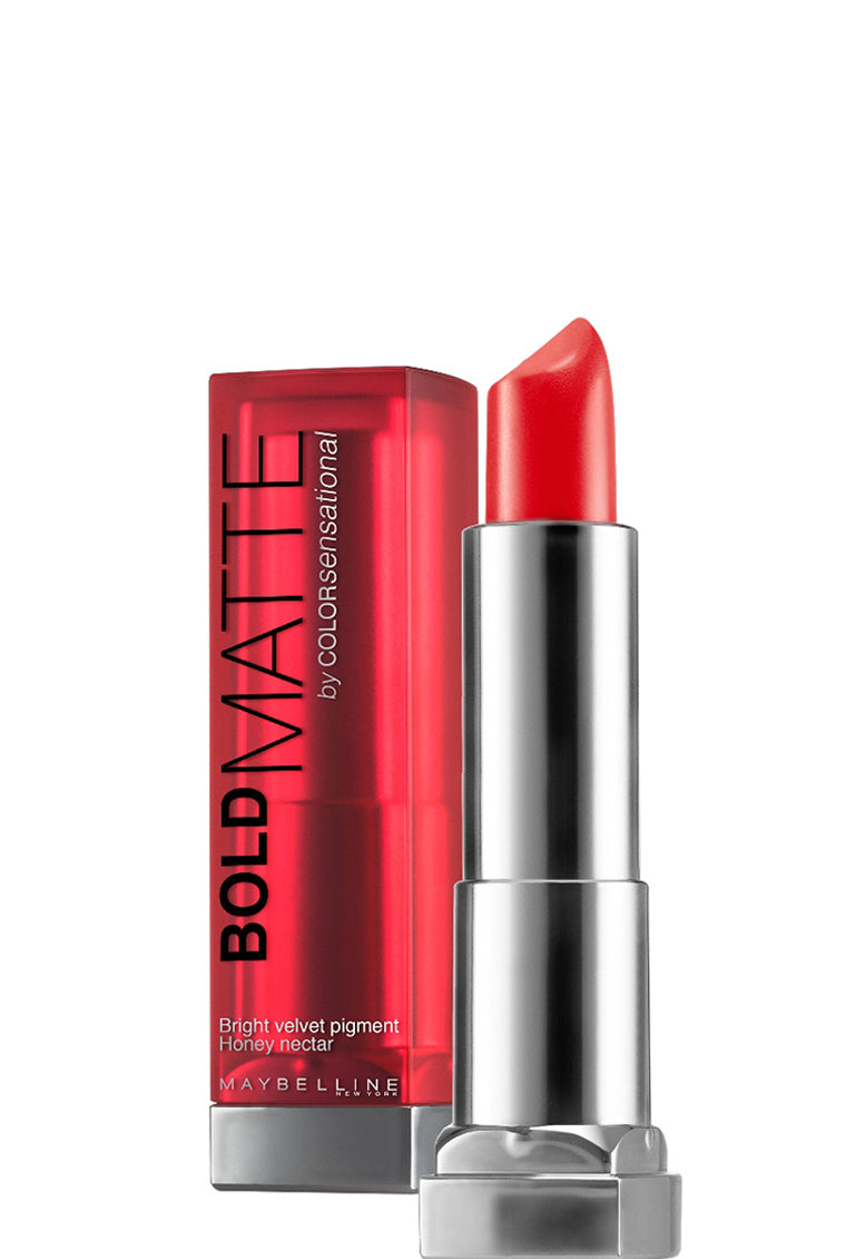 Maybelline New York Color Sensational Bold Matte Lipstick - Matte Mat2 Coral 326 - Cosmetics Diary