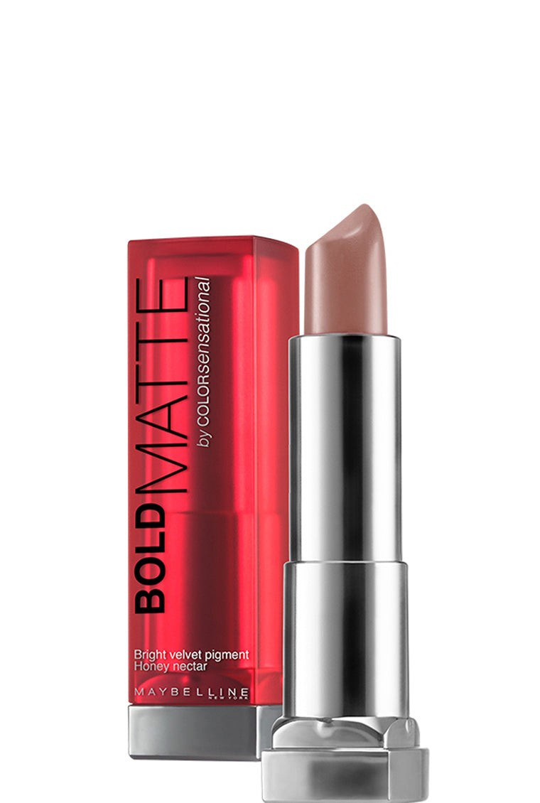 Maybelline New York Color Sensational Bold Matte Lipstick - Mat7 Viva Honey Love