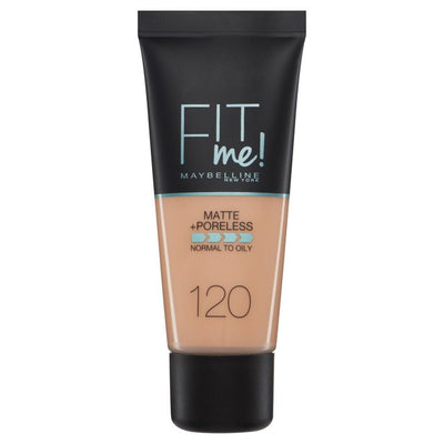 Maybelline New York Fit Me Matte + Poreless Foundation - Classic Ivory 120 | Cosmetics Diary