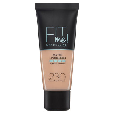 Maybelline New York Fit Me Matte + Poreless Foundation - Natural Buff 230 | Cosmetics Diary