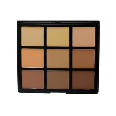 Morphe 9C Highlight and Contour Palette - Cosmetics Diary