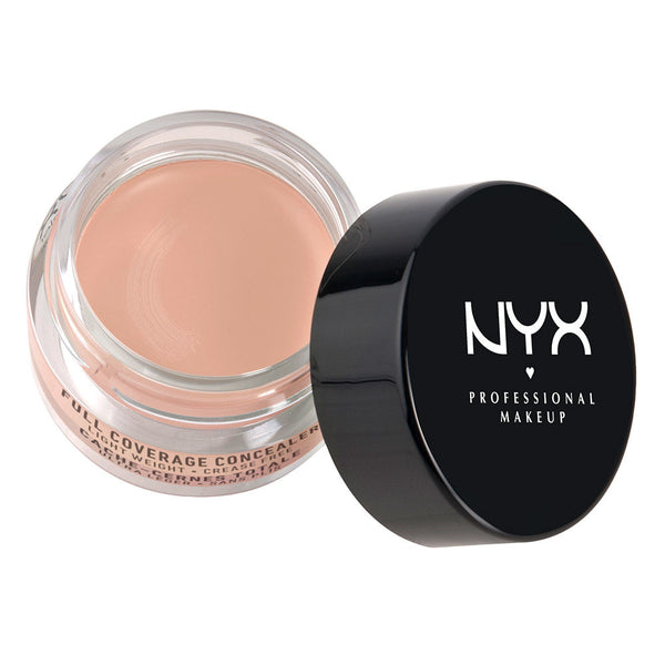 NYX Cosmetics Full Coverage Concealer Jar - LIGHT - Cosmetics Diary