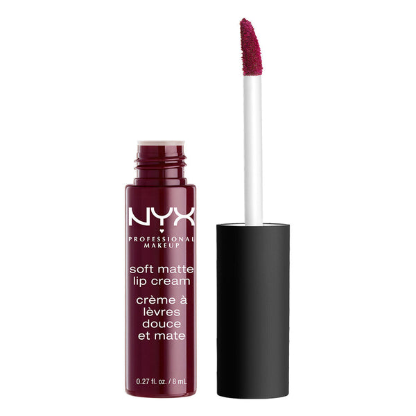 NYX Professional Makeup Soft Matte Lip Cream - Copenhagen (Matte Rich Plum) - Cosmetics Diary