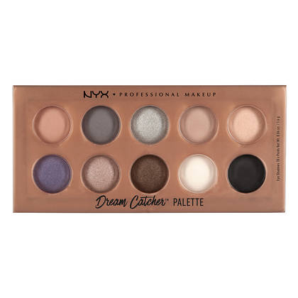 NYX Professional Makeup Dream Catcher Eyeshadow Palette - Stormy Skies - Cosmetics Diary