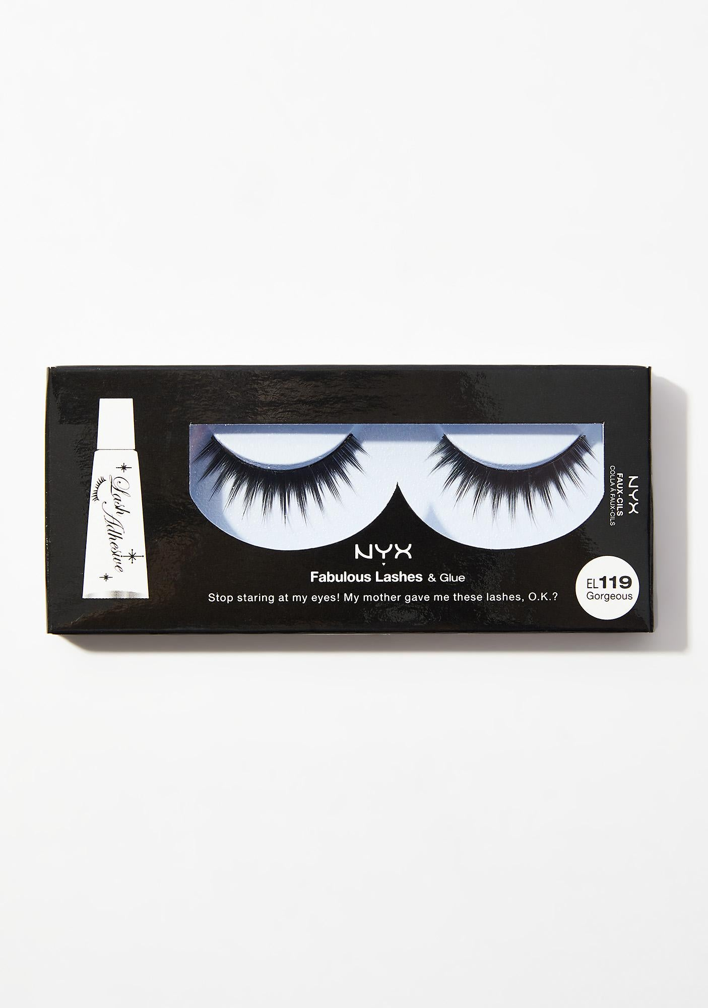 NYX Professional Makeup Fabulous Lashes & Glue - Gorgeous EL119