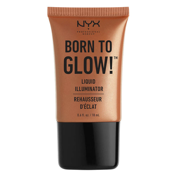 NYX Professional Makeup Born To Glow Liquid Illuminator - Sun Goddess - Cosmetics Diary