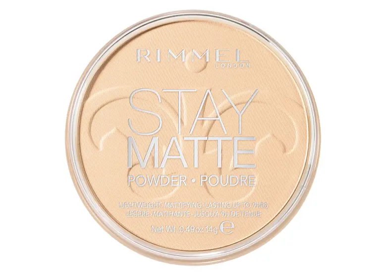Rimmel London Stay Matte Pressed Powder - 001 Transparent | Cosmetics Diary