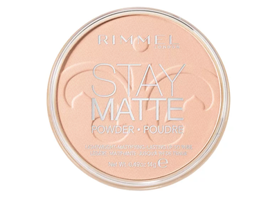 Rimmel London Stay Matte Pressed Powder - 002 Pink Blossom | Cosmetics Diary