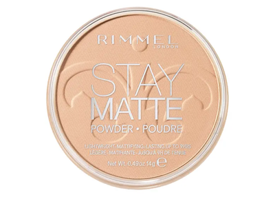 Rimmel London Stay Matte Pressed Powder - 004 Sandstorm | Cosmetics Diary