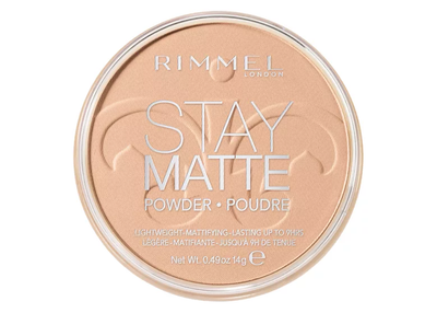 Rimmel London Stay Matte Pressed Powder - 005 Silky Beige | Cosmetics Diary