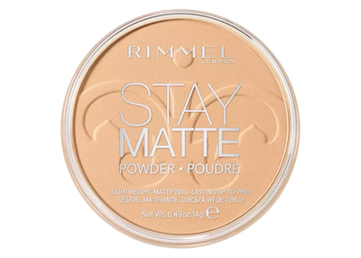 Rimmel London Stay Matte Pressed Powder - 006 Warm Beige | Cosmetics Diary