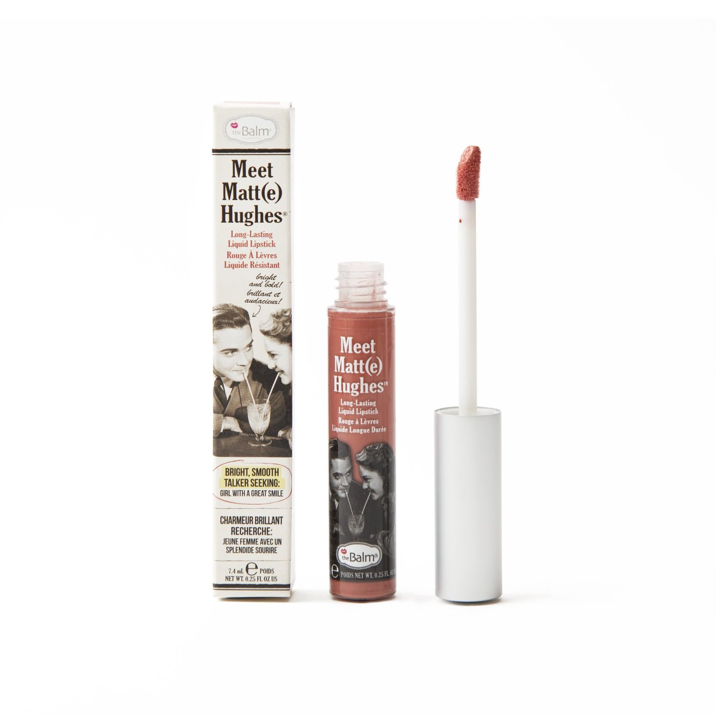 theBalm Meet Matte Hughes Long Lasting Liquid Lipstick - Doting