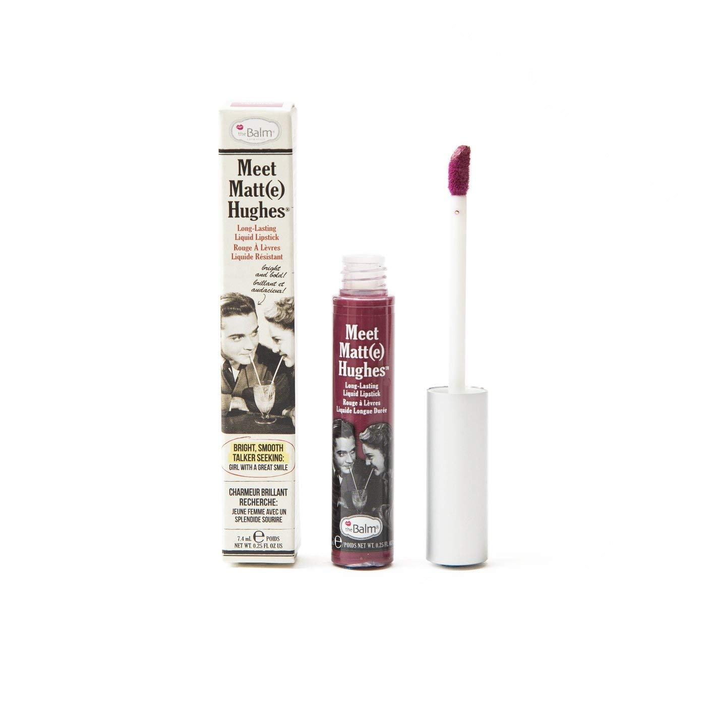 theBalm Meet Matte Hughes Long Lasting Liquid Lipstick - Faithful