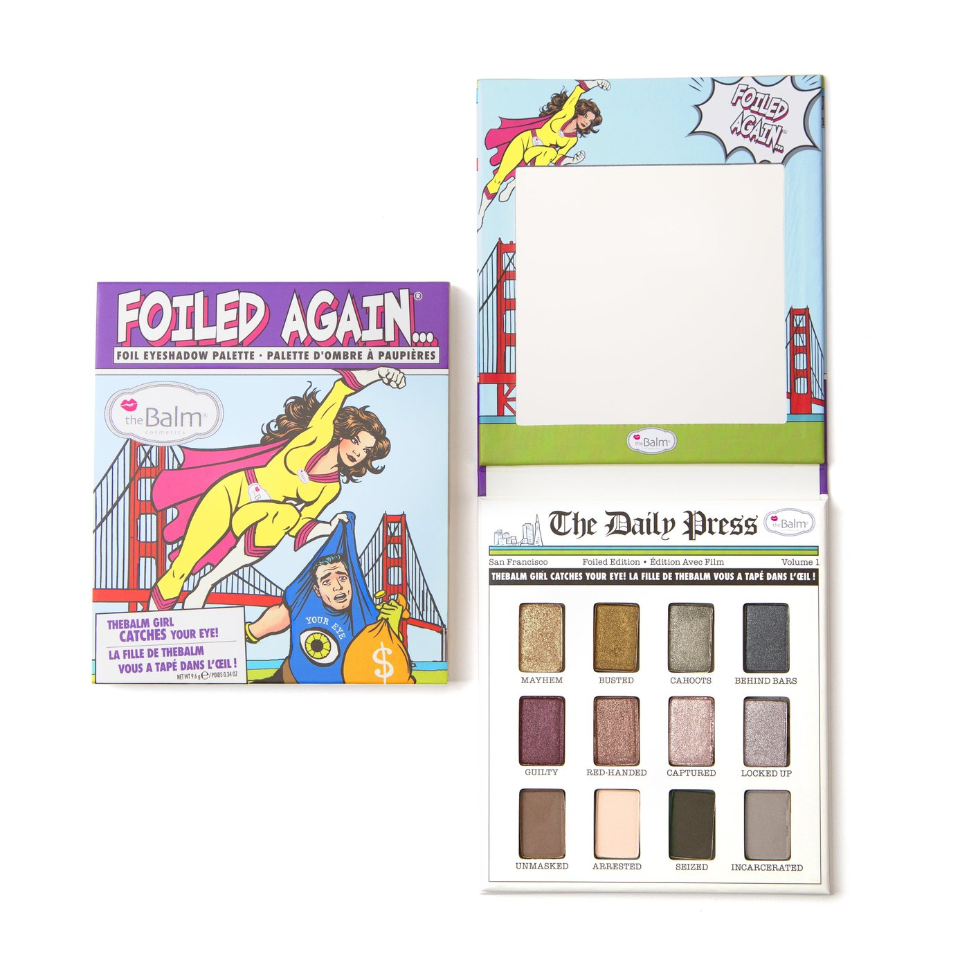 theBalm Foiled Again... Foiled Eyeshadow Palette -  | Cosmetics Diary