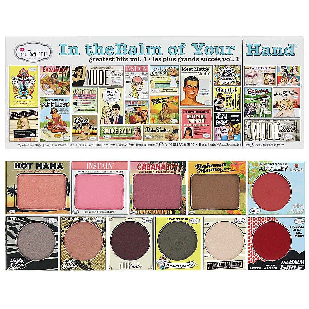 theBalm in theBalm of Your Hand - Greatest Hits Volume 1 Palette - Cosmetics Diary