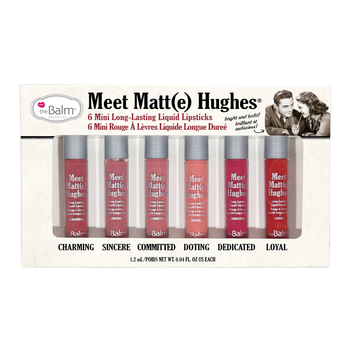 theBalm Meet Matte Hughes Lipsticks Kit - Vol 1