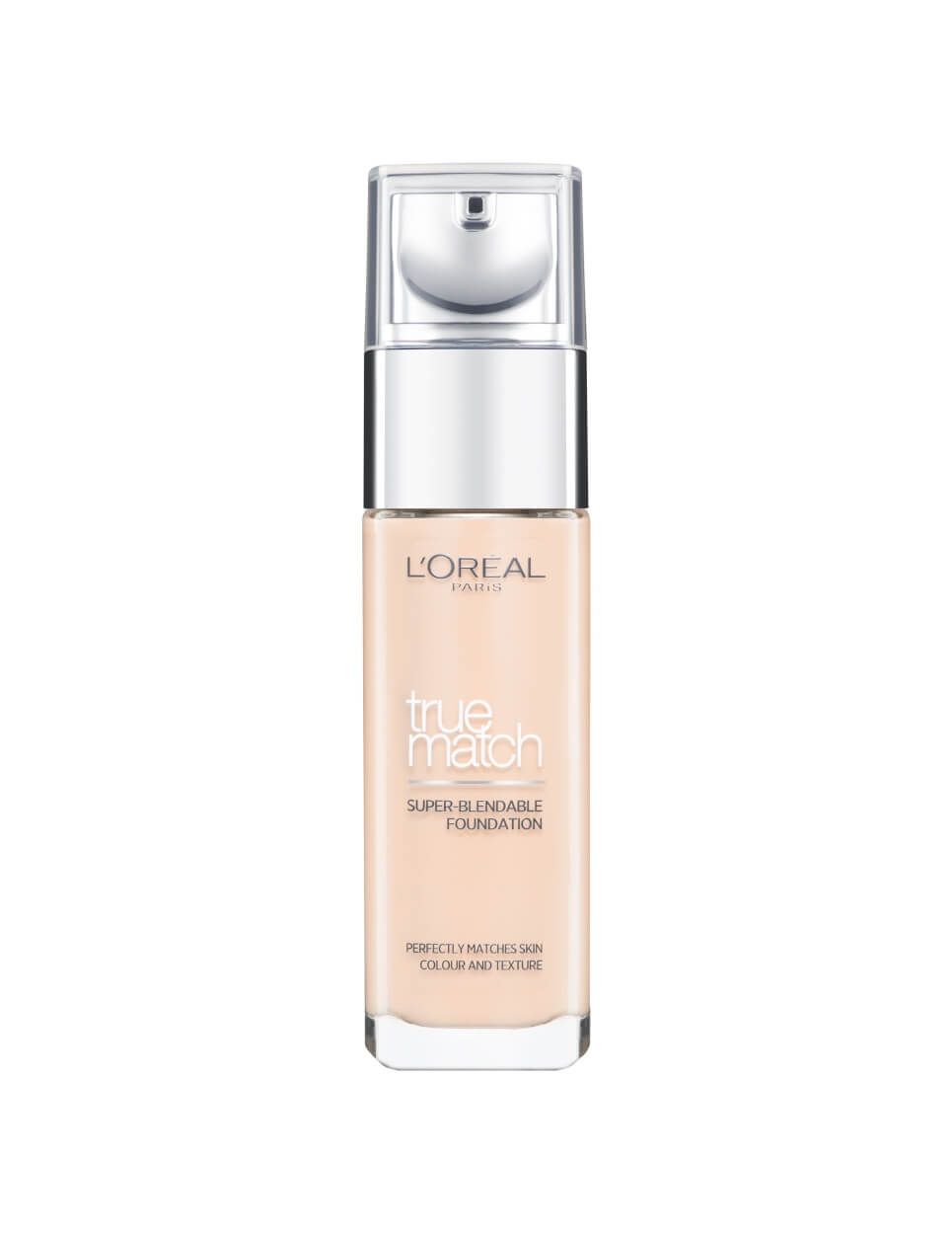 L'Oreal Paris True Match Liquid Foundation - 1.N Ivory -  | Cosmetics Diary