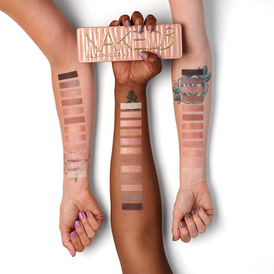 Urban Decay NAKED 3 Eyeshadow Palette - Cosmetics Diary